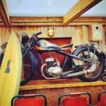 restaurant drifters motorbike